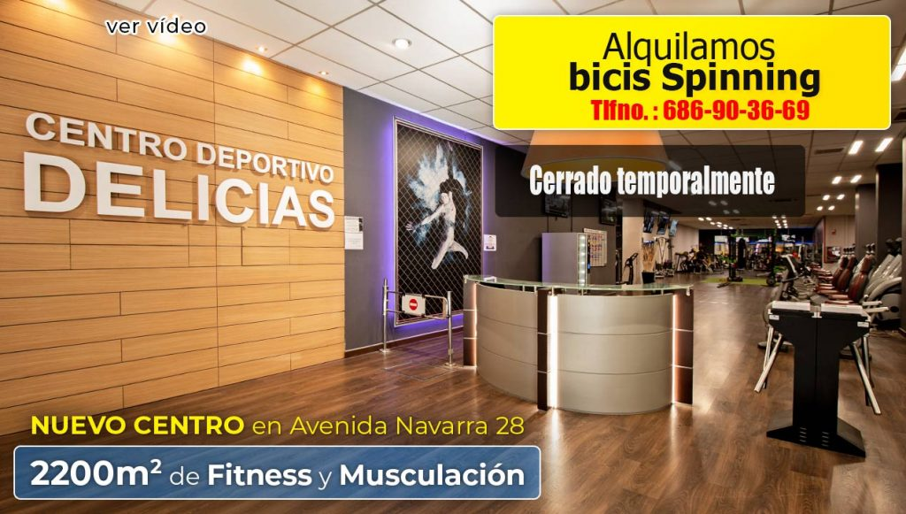 Vídeo presentación del gimnasio c. d. Delicias